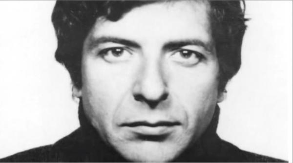 Leonard Cohen, dans sa jeunesse.