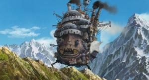 Le château ambulant du film...