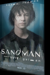 The sandman, avec Keanu Reeves (fake)