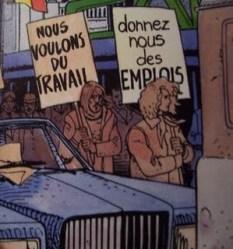 SOS BONHEUR des emplois Griffo Van Hamme