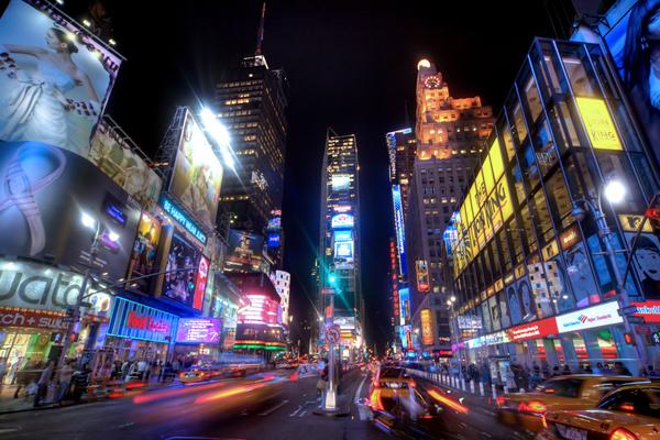 Ceux que j'ai manqués quoi… etats unis new york times square